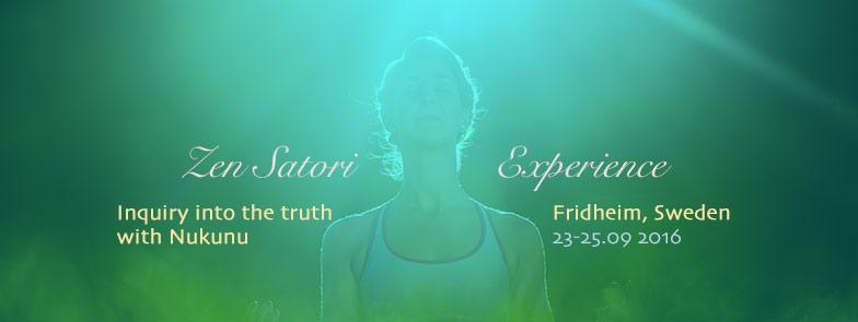 Zen Satori Experience